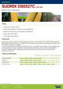 Nasiona Kukurydzy SUDRIX FAO 260