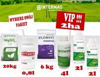 Dokarmianie dolistne kukurydzy INTERMAG Pakiet VIP+ 2ha