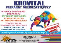 Mleko zastępcze KROVITAL LEN PREMIUM (1:9 CENA ZA LITR 0,48 ZŁ ) 20 kg