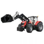 Zabawka ciągnik Massey Ferguson 7600 z ładowaczem