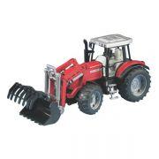 Traktor Massey Ferguson 7480 z ładowaczem
