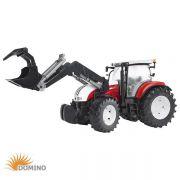 Traktor Steyr CVT 6230 z ładowaczem
