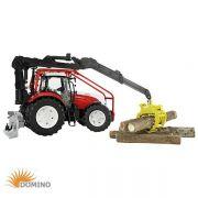 Traktor Steyr CVT 623 z HDS do prac leśnych