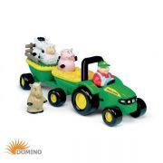 Zabawka Traktorek John Deere ze zwierzakami