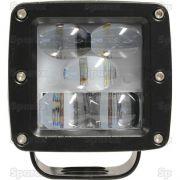 Czerwona lampa LED wyznaczająca strefę zagrożenia, 120 Lumenów