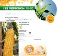Nasiona kukurydzy ES Metronom (FAO 240) EURALIS