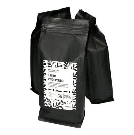 Kawa ziarnista IL Mio Espresso 1kg Arabica Honduras Brazylia