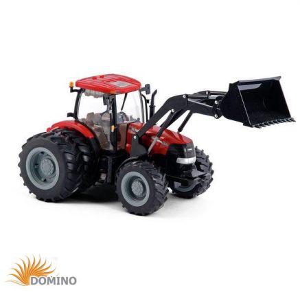 Traktor Big Farm Case IH z ładowaczem i bliźniaczymi kołami