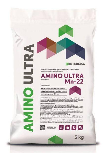AMINO ULTRA Mn 22 1kg Nawóz organiczno-mineralny
